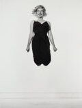 Photographs, Philippe Halsman (American, 1906-1979). Marilyn Jumping, 1954. Gelatin silver, printed later. 13-1/2 x 10-3/8 inches (34...