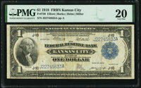 Fr. 739 $1 1918 Federal Reserve Bank Note PMG Very Fine 20