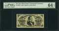 Fractional Currency:Third Issue, Fr. 1294 25¢ Third Issue PMG Choice Uncirculated 64 EPQ.. ...