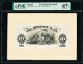 Canada Toronto, ON- Dominion Bank $10 2.1.1925 Ch.# 220-18-10PP1 Front Progressive Proof PMG Superb Gem Unc 67 EPQ