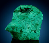 Polished Malachite Free-Form DR Congo