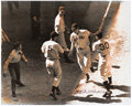Autographs:Photos, Ted Williams Signed 1941 All-Star Game Oversized Photograph. ...