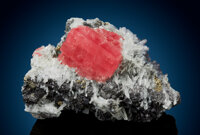 Rhodochrosite with Quartz & Sphalerite Sweet Home Mine (Home Sweet Home Mine Sweet Home lode and Pulaski lode [Pate...