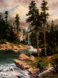 Paintings, Gary Lynn Roberts (American, b. 1953). Spring, 1984. Oil on canvas. 24-1/8 x 17-7/8 inches (61.3 x 4...