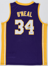 Shaquille O'Neal Signed Los Angeles Lakers Jersey