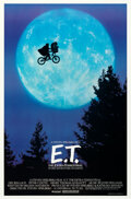 """Movie Posters:Science Fiction, E.T. The Extra-Terrestrial (Universal, 1982). Rolled, Near Mint-. One Sheet (26.75"""" X 40.5"""") Bicycle Style. . ..."""