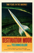 """Movie Posters:Science Fiction, Destination Moon (Pathé, 1950). Fine/Very Fine on Linen. One Sheet (27"""" X 41"""").. ..."""
