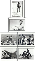 """Movie Posters:Horror, Jaws (Universal, 1975). Near Mint. Behind-the-Scenes Photos (6) (8"""" X 10"""") Louis Goldman Photography.. ... (Total: 6 Items)"""