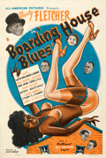 """Movie Posters:Black Films, Boarding House Blues (All-American Pictures, 1948). Fine on Linen. One Sheet (28"""" X 41.5"""").. ..."""