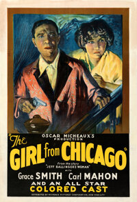 """The Girl from Chicago (Micheaux Film Corporation, 1932). Fine- on Linen. One Sheet (28"""" X 41.5"""")"""