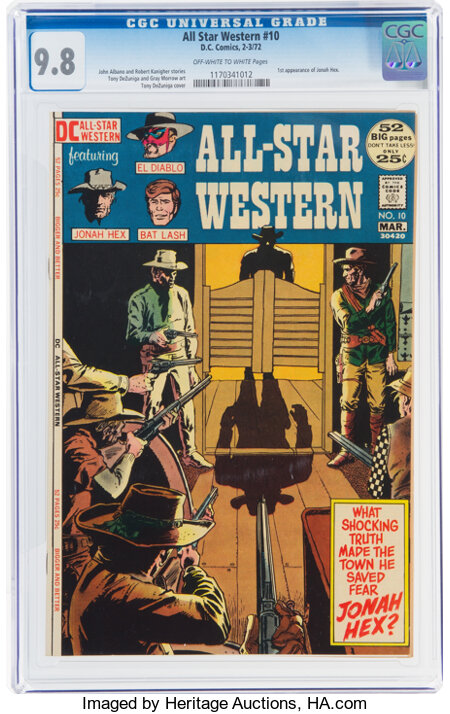 All-Star Western #10 (DC, 1972) CGC NM/MT 9.8 Off-white to white pages....