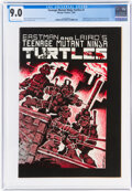 Modern Age (1980-Present):Alternative/Underground, Teenage Mutant Ninja Turtles #1 (Mirage Studios, 1984) CGC VF/NM 9.0 Off-white to white pages....