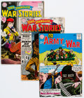 Silver Age (1956-1969):War, DC Silver Age War Comics Group of 7 (DC, 1950s-60s) Condition: Average VG-.... (Total: 7 Comic Books)