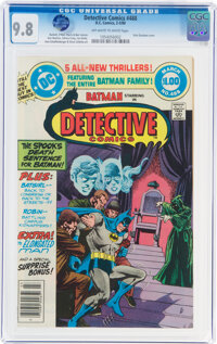 Detective Comics #488 (DC, 1980) CGC NM/MT 9.8 Off-white to white pages