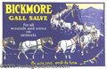 Advertising:Medicinal, BRICKMORE GALL SAVE VETERINARY SALVE FOR HORSES. Collectin...