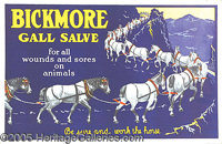BRICKMORE GALL SAVE VETERINARY SALVE FOR HORSES. P B Collecting veterinary cure advertising is one of the hott...