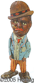 Antiques:Toys, LOUIS MARX TIN WIND-UP WALKING COMIC CHARACTER ANDY. Start...