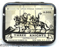 Advertising:Medicinal, EXCELLENT THREE KNIGHTS CONDUM TIN FULL. A popular collectable i...