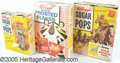 Advertising:Paper Items, THREE DIFFERENT 1950'S PREMIUM CEREAL BOXES. group of three diff...