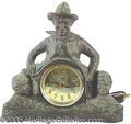 "Entertainment Collectibles:Movie, 1930S UNITED ""WILL ROGERS"" CHARACTER CLOCK. Rare electric per..."
