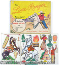 Entertainment Collectibles:Comic Character, LONE RANGER PUNCHOUT SET GAME. Nice graphic game box complete wi...
