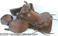 Entertainment Collectibles:Movie, UNUSUAL AND RARE ROY ROGERS SADDLE. Very rare and unusual is ...