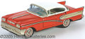 Antiques:Toys, TAIL-FINNED 50'S STYLE CLASSIC TIN FRICTION CAR. Marked made in ...