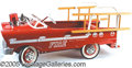 Antiques:Toys, CHILD'S MURRAY FIRE TRUCK. Excellent restored condition Murra...