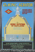 Advertising:Signs, KING AERATOR FARM SIGN AMERICAN ART WORKS. The mecca of adver...