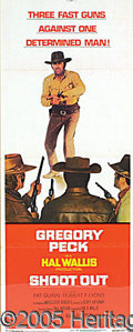 Entertainment Collectibles:Movie, 3 DIFFERENT GREGORY PECK MOVIE POSTERS. Three different Grego...