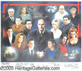 Entertainment Collectibles:TV & Radio, KILLER AUTOGRAPHED SOPRANO'S PRINT. Beautiful large 2001-date...