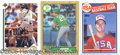 Miscellaneous, (3) MARK MCGWIRE AUTOGRAPHED CARDS. Of all the living 500 home r...