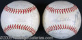 Miscellaneous, 1968 & 1969 LOS ANGELES DODGER AUTOGRAPHED BASEBALLS. Herewe...