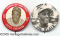 Miscellaneous, (2) STADIUM PINS, JACKIE ROBINSON & JOE BLACK. Here we have two...