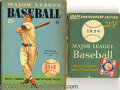 Miscellaneous, (16) COMPLETE RUN OF DELL BASEBALL 1937-53. Dell issued an an...