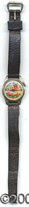 Miscellaneous, FIGURAL BASEBALL WATCH. This children's watch is a clever nov...