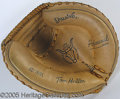 "Miscellaneous, ""TOM HALLER"" MODEL CATCHER'S MITT. Likely from the late 1960's o..."