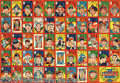 Miscellaneous, 1950 UNCUT SHEET FULL MENKO CARD SET WITH BABE RUTH. A complete ...