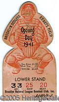 Miscellaneous, OPENING DAY - 1941. Brooklyn Dodger enthusiasts will delight in ...