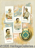 Miscellaneous, ALLEN & GINTER ALBUM PAGE. As was fashionable in many 19thCentu...