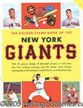 Miscellaneous, 1955 GOLDEN BOOK OF NEW YORK GIANTS. On the heels of their 1954 ...