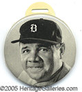 Miscellaneous, BABE RUTH HAND SCORER WITH BOSTON CAP. An exceptionally clean ex...