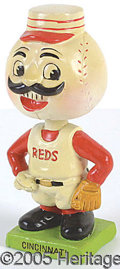 Miscellaneous, CINCINNATI REDS BOBBIN' HEAD. Perhaps the most actively pursued ...