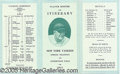 Miscellaneous, 1931: THE YANKEES IN SPRING TRAINING. Our modern perception o...