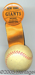 """Miscellaneous, GIANTS - """"NATIONAL LEAGUE CHAMPIONS"""". With certainty, we know th..."""