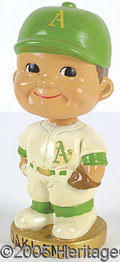 Miscellaneous, OAKLAND A'S BOBBIN' HEAD. Toward the end of the genre (late 1960...