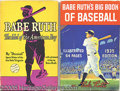 Miscellaneous, TWO BABE RUTH BOOKS. The collector who cares to expand his libra...