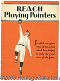 """Miscellaneous, REACH """"PLAYING POINTERS"""". Though not mentioned, Christy Walsh wa..."""
