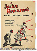 Miscellaneous, JACKIE ROBINSON POCKET GAME. Commonly, we don't think of Jackie ...