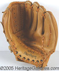 "Miscellaneous, ""WILLIE MAYS"" MODEL GLOVE. This one wasn't cheap.  Toward t..."